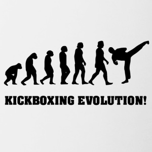 karate evolution - Tvåfärgad mugg