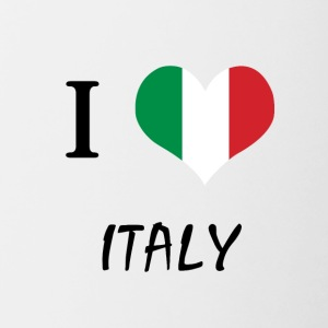 The shirt for Italians, Italy - Contrasting Mug