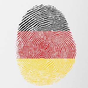 German fingerprint - Contrasting Mug