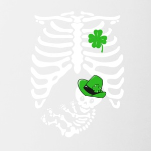 Irish skeleton Funny - Contrasting Mug