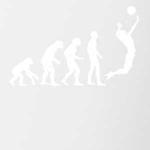 VOLLEYBAL EVOLUTIE! - Mok tweekleurig