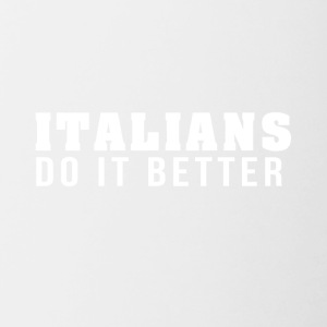 Italians are the best! - Contrasting Mug