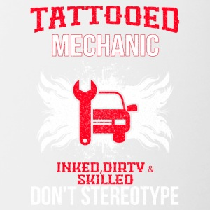 TATTOOED MECHANIC - Contrasting Mug