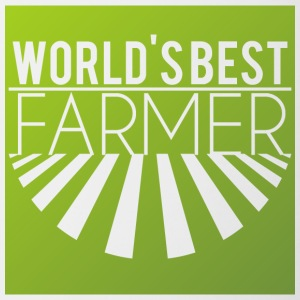 Farmer / Farmer / Farmer: World's Best Farmer - Mok tweekleurig