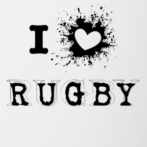 iLove Rugby - Contrasting Mug
