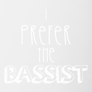 I prefer the bassist - Contrasting Mug