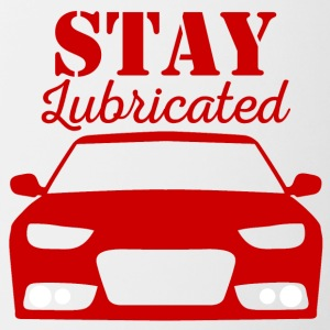 Mechanic: Stay Lubricated - Contrasting Mug