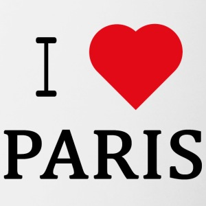 I Love Paris - Tofarget kopp