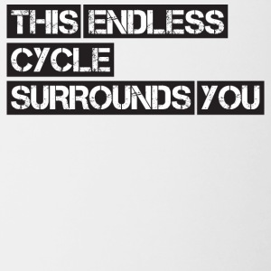 CICLISMO ENDLESS - Tazze bicolor