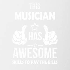 Musicians cool sayings - Contrasting Mug