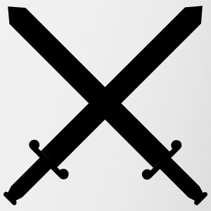Krysset sverd, Knight, King, Heraldry, Fighter - Tofarget kopp