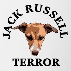 Jack Russell terrore - Tazze bicolor