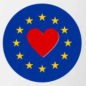 European Union EU Love Love - Contrasting Mug