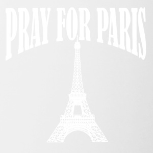 Pray for Paris - Tasse zweifarbig