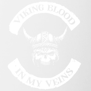 Viking Blood / Viking blod - Tvåfärgad mugg