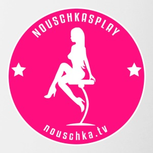 Nouschkasplay Badge pink_white 2017 - Tazze bicolor