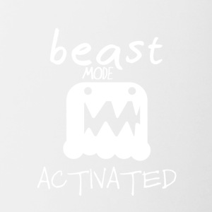 Monster mode activated - beast mode activated - Contrasting Mug