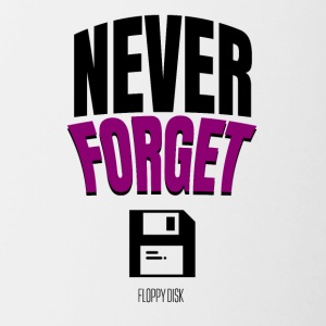 Never Forget - Taza en dos colores