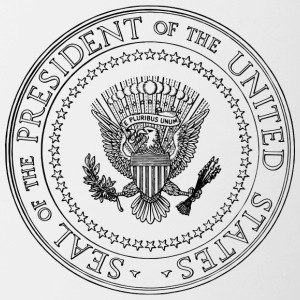 Seal - President of the United States - Contrasting Mug