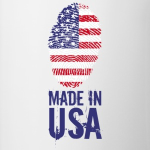 Made in USA / Made in USA Amerika - Mok tweekleurig