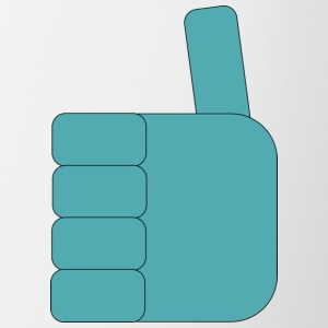 Thumbs_up_Robo - Tofarvet krus