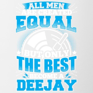 DJ ALL MEN ARE CREATED EQUAL - DEEJAY - Contrasting Mug