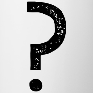 Question mark Vintage - Contrasting Mug