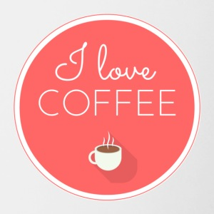 love coffee - Contrasting Mug