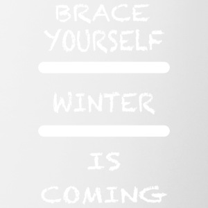 Brace_Yourself_WInter - Taza en dos colores