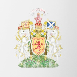Scottish Coat of Arms Scotland Symbol - Contrasting Mug
