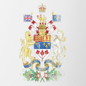 Coat of Arms canadese Canada Emblema - Tazze bicolor