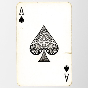 Games Card Ace Of Spades - Contrasting Mug