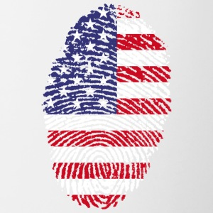 Fingerprint - USA - Contrasting Mug