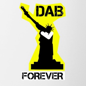 DAB FOREVER STATUE OF LIBERTY- YELLOW - Tazze bicolor