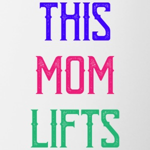 Mom workout mommy - Contrasting Mug