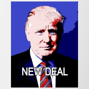 Trump_New_Deal - Mok tweekleurig