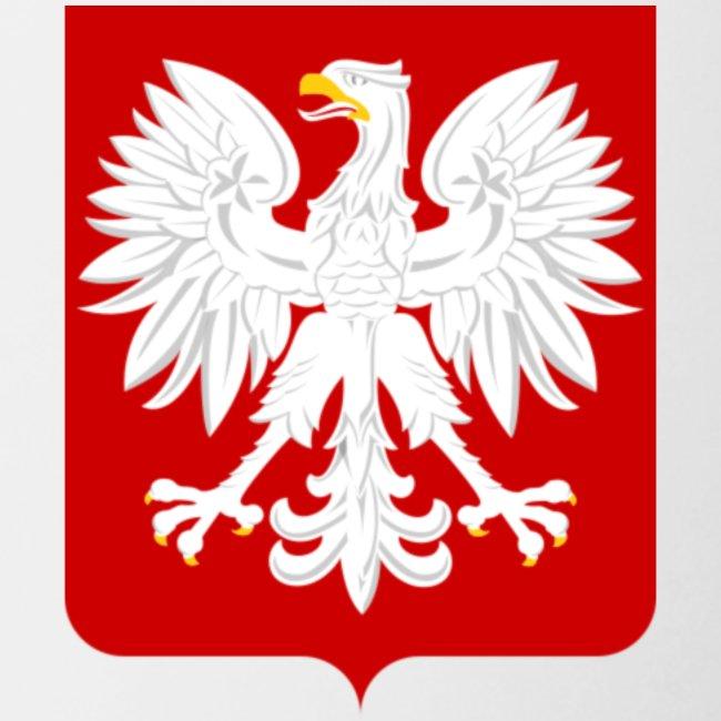 Koszulka z godłem Polski