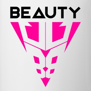 Beauty Black / Pink - Mok tweekleurig