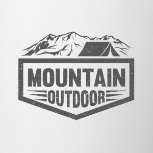 Mountain Outdoor - Tasse bicolore