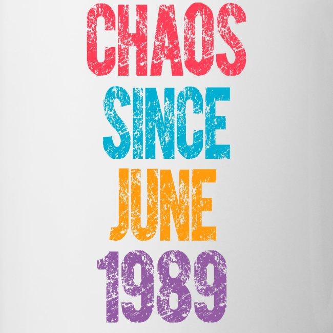 Juni 1989 Lustiges Geschenk Zum 30 Geburtstag Tasse Zweifarbig