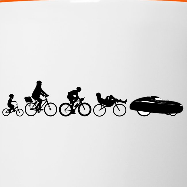 Bicycle evolution black