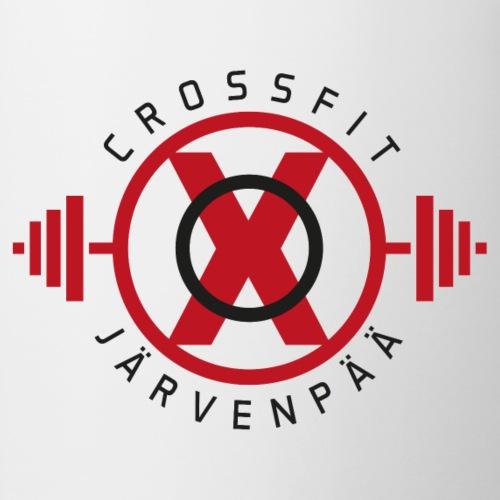 Crossfit Järvenpää - Kaksivärinen muki