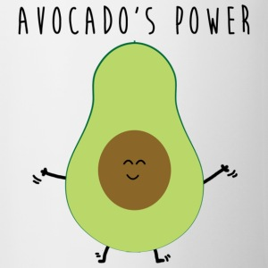 avocados_power - Tasse zweifarbig