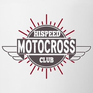 Motocross Hispeed Club - Contrasting Mug