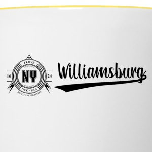New York City · Williamsburg - Tasse bicolore