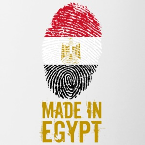 Made in Egypt / Made in Egypt مصر - Tasse bicolore