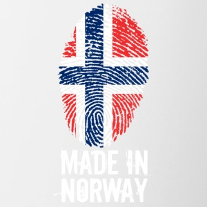 Made In Norge / Norge / Norge / Noreg - Tofarget kopp