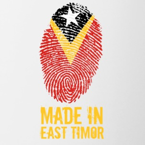 Made In East Timor / East Timor - Contrasting Mug