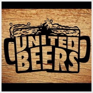 United Beers T-shirt - Tazze bicolor