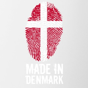 Made In Denemarken / Denemarken / Danmark - Mok tweekleurig